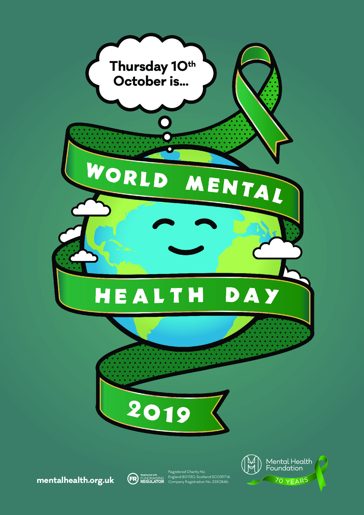 We are supporting World Mental Health Day – 10th October 2019 #40seconds